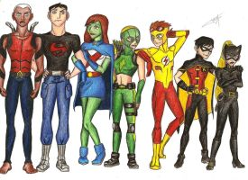 Young Justice - A small size problem? x) by Tolina