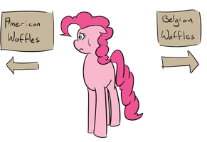 Tough times deciding, Pinkie? by afroquackster