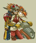 Fic fanart - Dax or Daxter by merrypaws