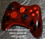 Blood Angels Xbox 360 Controller - Warhammer 40K by matherite