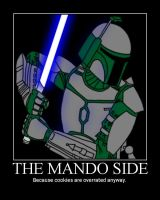 The Mando Side by DarthSkyGirl
