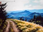 In to the Mountains by Marcysiabush