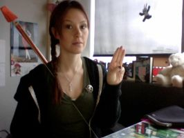 Closet Cosplay: Katniss by megturney