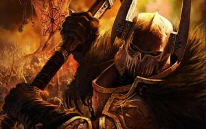 Warhammer fantasy-Marck of chaos by joselop