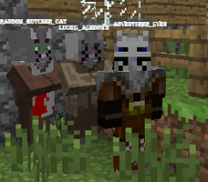 Minecraft - Sven With His Own Kind by DeLoverly