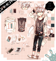[AUCTION*CLOSED]Lineheart*8 by Relxion-kun