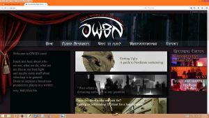 Website Concept by Magpieb0nes