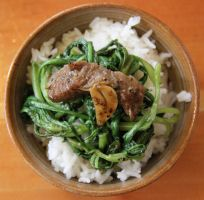 beef and rice: japanese style by muimei