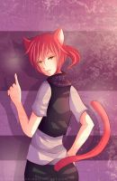 -- Commission for Maudado : Cat boy -- by Kurama-chan
