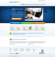 StepbyStep SEO - Home Page by xkaarux