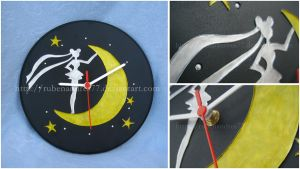 Sailor Moon wall clock (ver. 2) by Rubenandres77