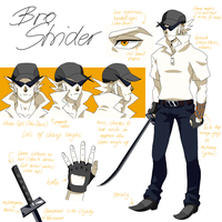 Guardian character sheet: Bro by Elbytron