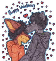valentines 2012 by Abby-Fennec