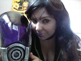 Tali makeup 2 by TaliBelle-Cosplay