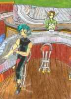 Carly's Bar of Amber by storymaker12