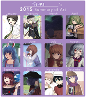 2015 Art Summary by Khylimei