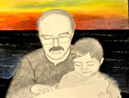 Dad and Me 2 by sing2mi