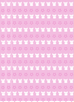 Happy Cat Star Origami Paper by StealingBread