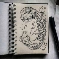Instaart - Sea creature by Candra