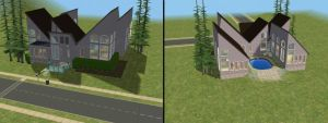 Sims 2 House by Fyzgigg