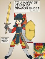 Dragon Quest 25 Years by Selecthumor