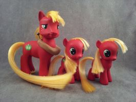 Big Macintosh - FiM custom my litte ponies by hannaliten