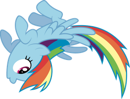 Rainbow Dash Flip by RelaxingOnTheMoon