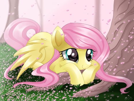 Under the Sakura Tree by Sunshineshiny