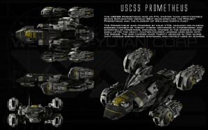 USCSS Prometheus ortho by unusualsuspex