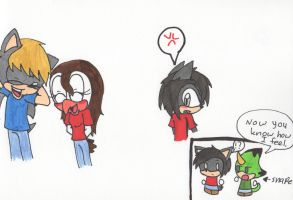 Jealousy - Alicia and the Marauders by Piplup88908