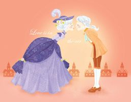 Love is in the air by cecilliahidayat