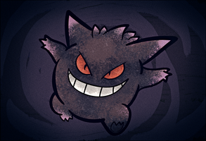 Gengar in LOMO by kkiittuuss