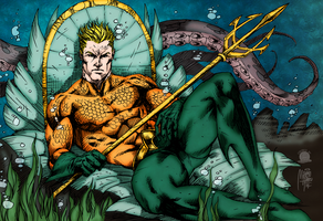 Aquaman by Blackmoonrose13