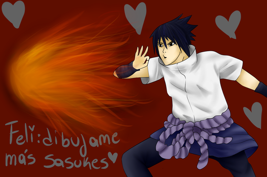 SASUKE by lenkagaminex3