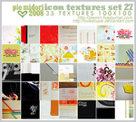 Icon Texures set 27 by sweetxpie