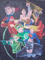 Justice League by billywallwork525