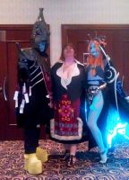 Midna, Zant and Telma walk into a bar..... by kwills84