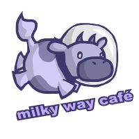 Milky Way Cafe Prototype Logo by fightingferret