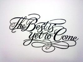The Best Is Yet to come :Paper Cutting by Swapneil
