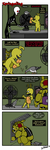 Springaling 181: Exit, office left by Negaduck9