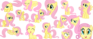 Fluttershy tribute by GodzillaPrime01