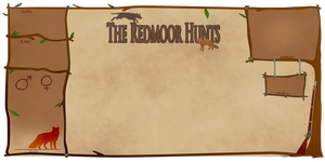 The Redmoor Hunts - Reference Sheet by Clockhound