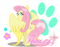 Fluttershy by BluDraconoid
