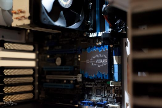 ASUS P8Z77-V Motherboard by IWSFOD-D