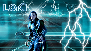 Loki of Tron by AgentLaufeyson