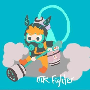 The pollution fighter by Wetfishnomono