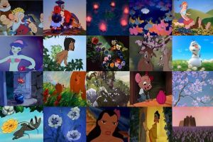 Disney Flowers in Movies Part 3 by dramamasks22