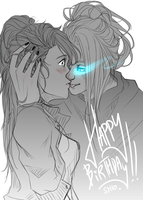 Happy Birthday Shio. by lunast