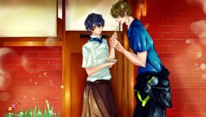 MakoHaru: Just for you by Iwonn