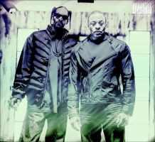 Dr Dre Snoop Dogg by SeanJJ